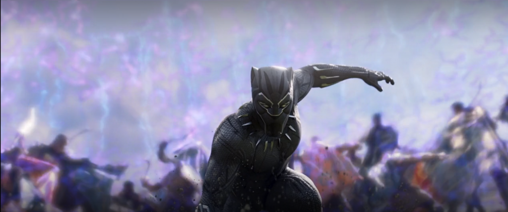 Black Panther Energy Blast