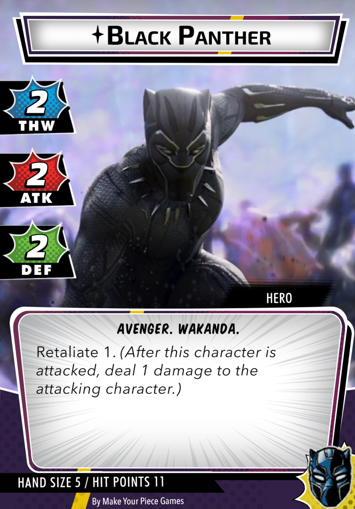 Black Panther Chadwick Boseman Hero