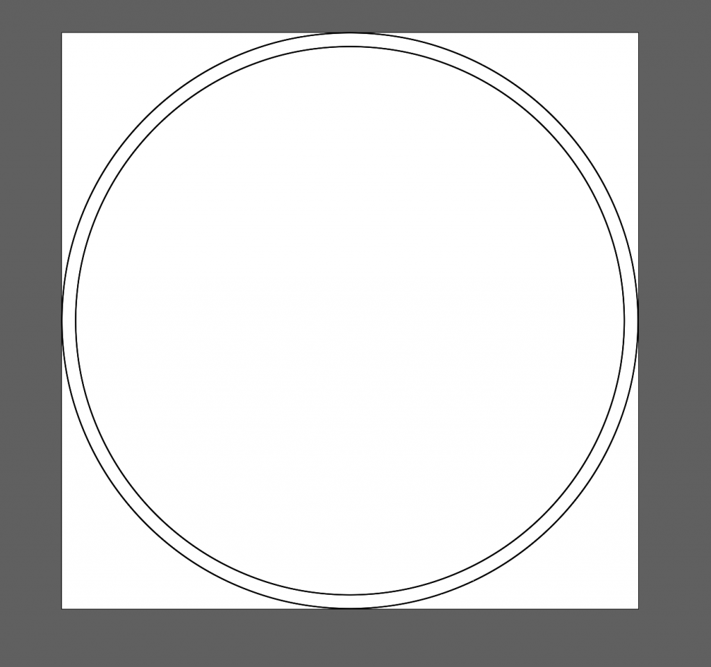 Canvas for 20mm glass tokens