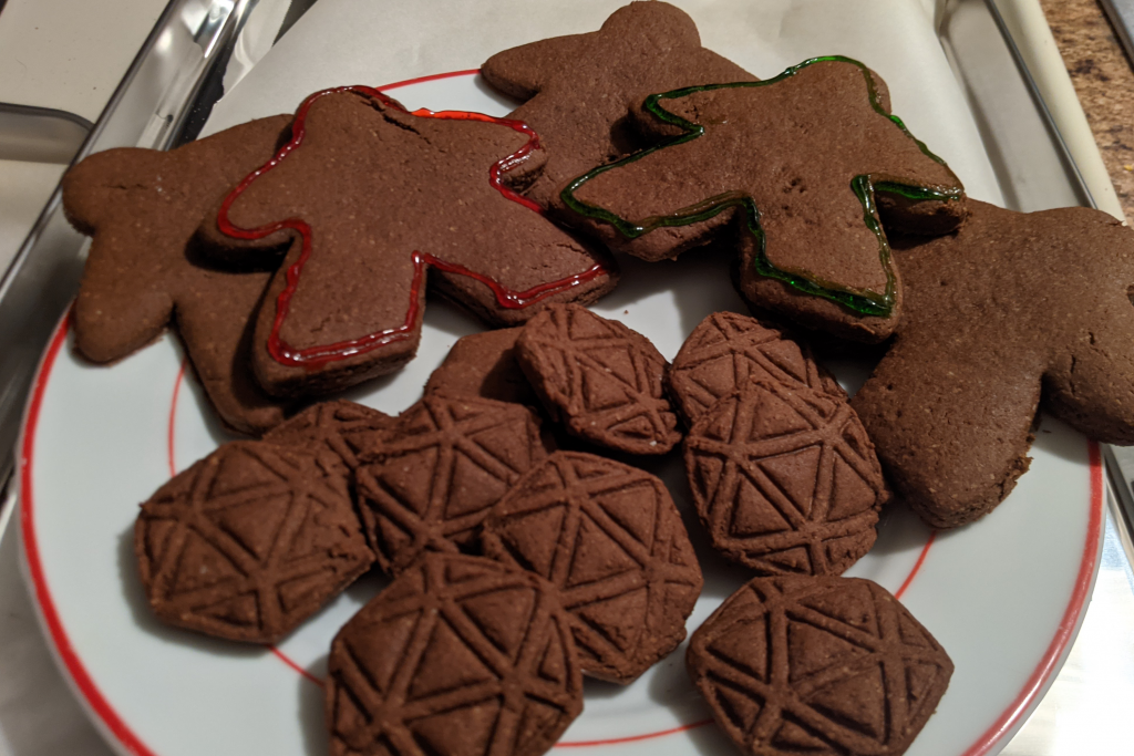 board game cookies from 3d print cookie cutter